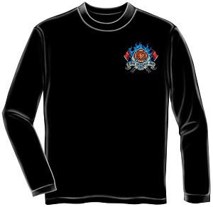 Long Sleeve First In Last Out Firefighter