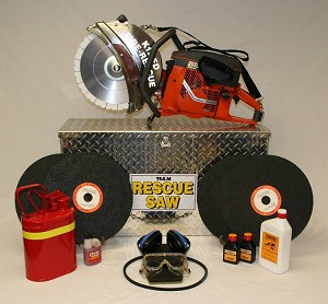 Team Husqvarna K-12 FD Mega Rescue Saw Kit