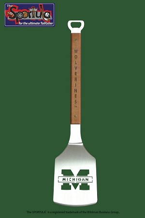Sportula Brand Collegiate Series Grill Spatula-University of Michigan