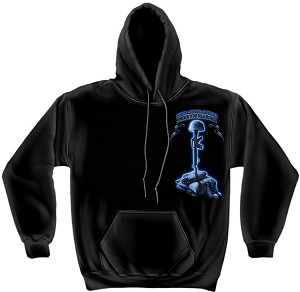 Hooded Sweat Never Forget Fallen Soldier