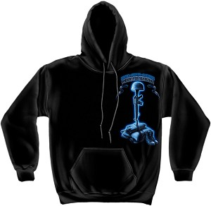 Hooded Sweat Usmc Never Forget