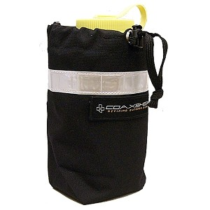 Coaxsher Water Bottle Case with Alice Clips - Black