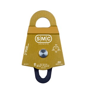 "PMI SMC 3"" Double Prusik Minding Pulley - Gold"