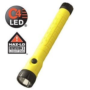 PolyStinger LED HAZ-LO (w/out charger) Yellow