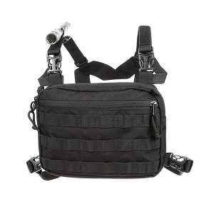 Coaxsher Molle Chest Harness Black