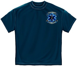Service Before Self Ems Mens Tee Navy