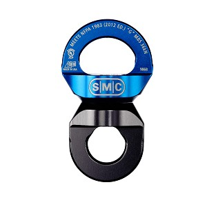 PMI SMC NFPA Rescue Swivel - Blue/Charcoal