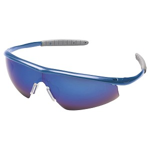Tremor® Safety Glasses (Indigo Blue Frame, Blue Diamond Lens)