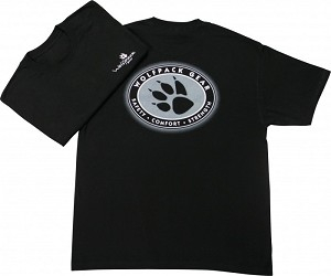 X-Large Wolfpack Gear Black & White T-Shirt